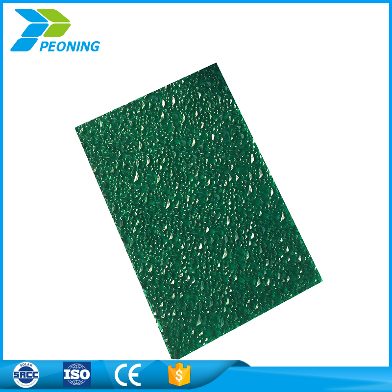 High tech heat insulation pc polycarbonate transparent roofing sheet for upholstery