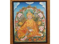 Thanka of Tibetan Guru Rinpoche