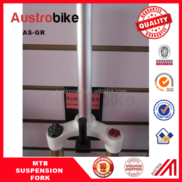 Hydraulic air suspension mountain bike forks for sale Magnesium Alloy 26 MTB Suspension Front Fork