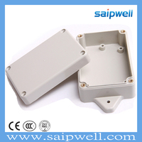SAIPWELL100*68*40 Hottest Electrical Waterproof Sealed Terminal Junction Box with Small Ears