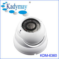 Manufacturer Metal Dome IR Security Camera With Manual zoom and focus