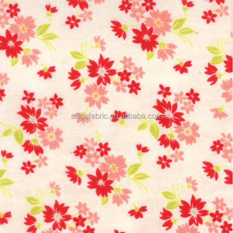 wholesale white cotton Flannel duster cloth fabric/cleaning clothes fabric