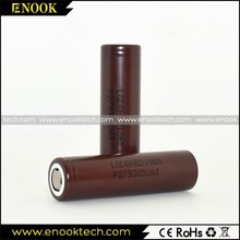 Original INR18650 LG HG2 3.7V li-mn 18650 3000mah rechargeable battery for vapor