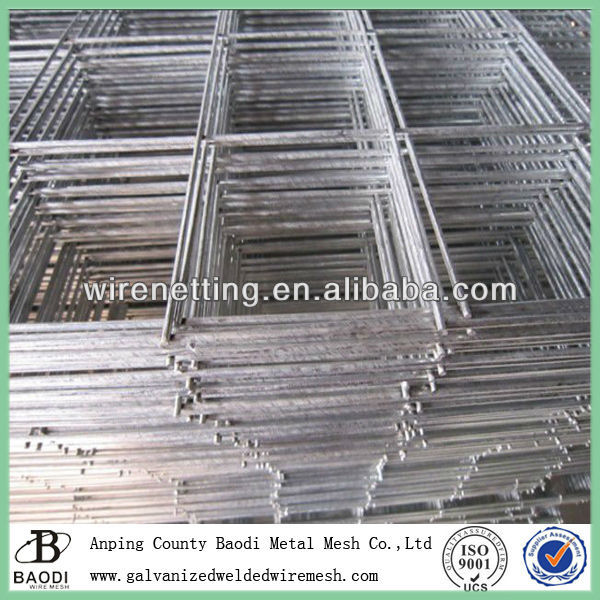 1/2 inch welded wire mesh fence panel (Baodi Manufacture ISO9001:2000)