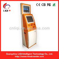 "19"" keyboard kiosk for shopping mall and information kiosk"