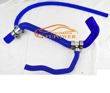 fits LAND ROVER DISCOVERY 1 300 TDi 300TDi BOTTOM RADIATOR SILICONE HOSE COOLANT BLUE