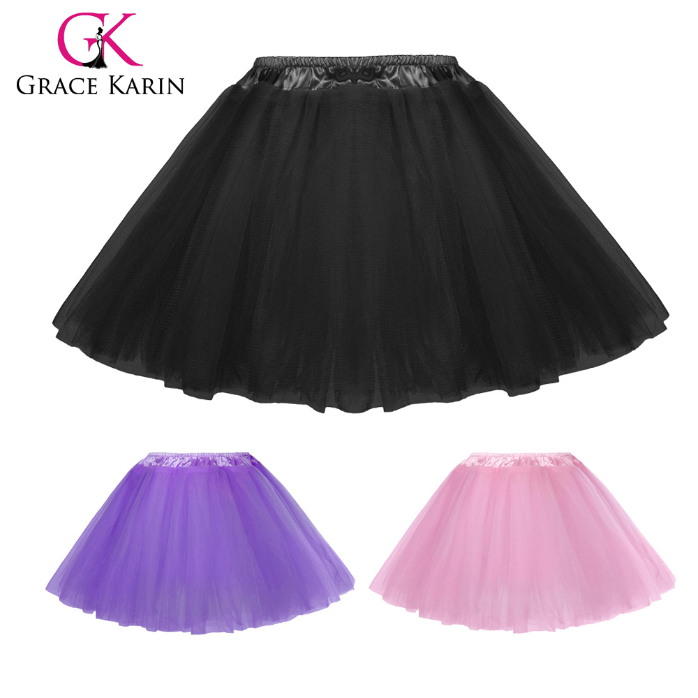 Grace Karin Baby Girl's Classical 5-Layers Soft Tulle Netting Tutu Skirt 6Months~8Years CL010459