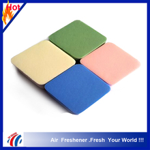 New 2016 Hot sale lovely fashion latex free cosmetic sponge, cosmetic puff makeup 4-color pack