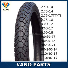 Available size motorcycle motorbike vacuum tire