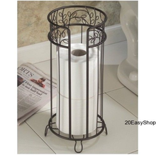 Bathroom Decorative Free Standing Toilet Paper Holder