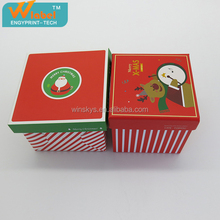 Customized paper gift box top and bottom storage box cardboard paper gift box