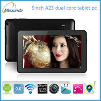 "9"" tablet pc smart allwinner A23 DUAL core mini pc china no brand tablet pc"