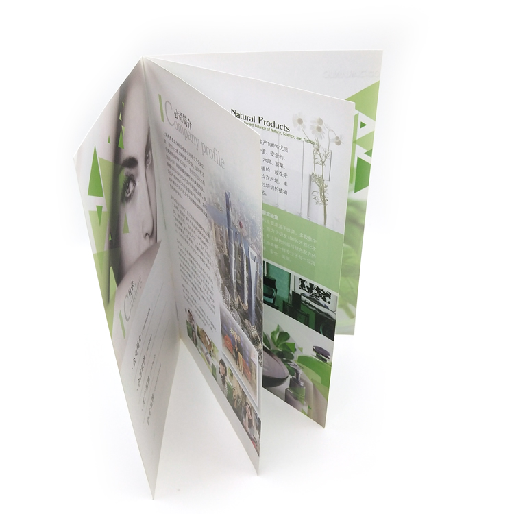 Cheap Price Brochure Customized Printing magazine printing brochure sample