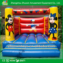 Children's birthday party entertainment Bouncy Castles MASCOT MINNIE MOUSE mickey mouse