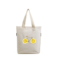 Fashion custom printed useful women shopping shoulder canvas tote bag