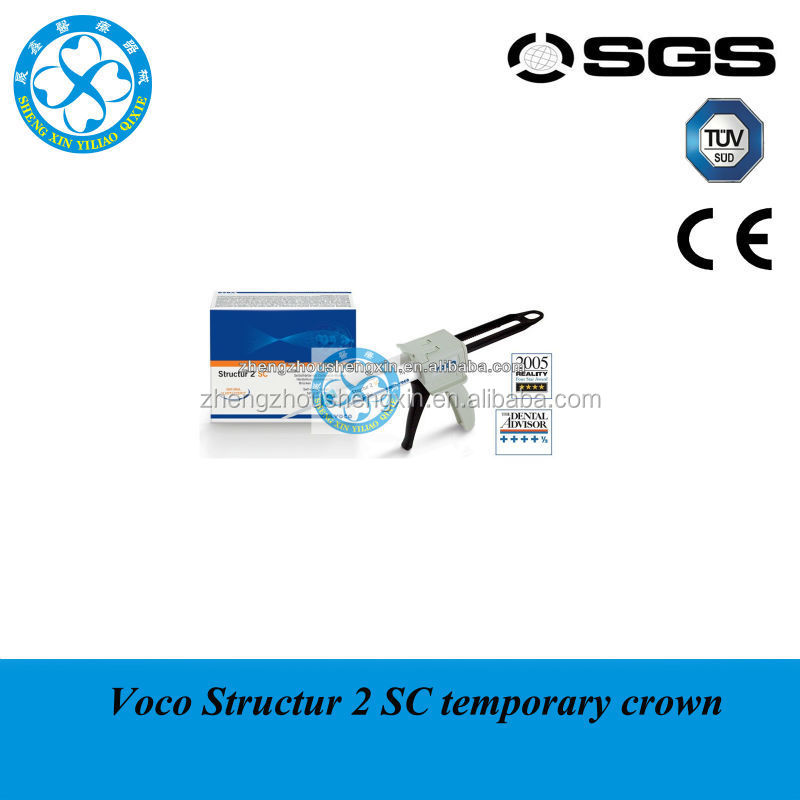 Dental Supply Voco Structur 2 Self-curing temporary crown and bridge material in cartridges