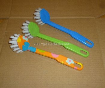colorful dish cleaning brush kitchen brush