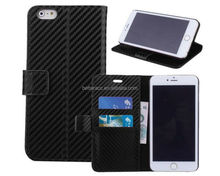 New product 2016 wallet leather flip case with window for iPhone 5s