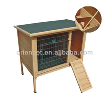 wooden rabbit house cage