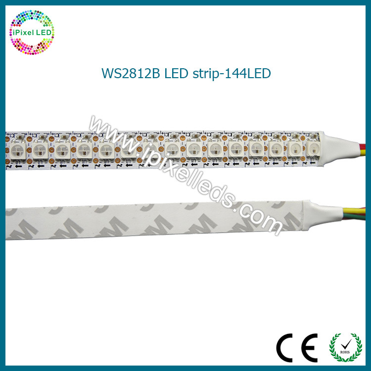 flexible dream color WS2812 144leds/m rgb led strip smd5050 programmable