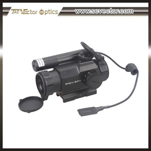 Vector Optics Rayman 1x30 Reflexible red dot scope sight with green laser sight combo