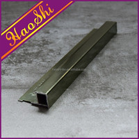 Multifunctional metal tile trim used to protects and decorates tiled outer and wall corners tiled edges for wholesales