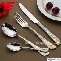 Luxury 86pcs top quality stainless steel cutlery kitchenware tableware wholesale with piano case