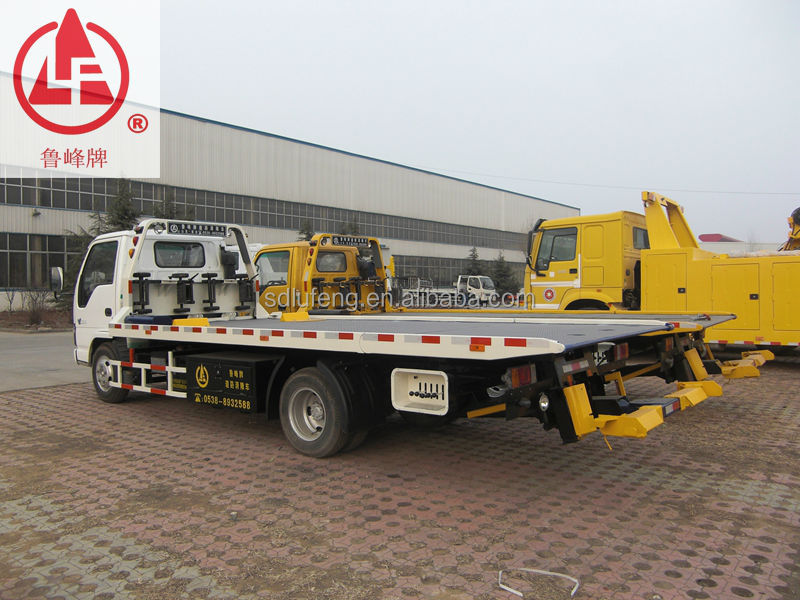 ISUZU New Condtion Light Duty 3ton flatbed road wrecker recovery vehicle for sale