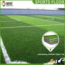 Promotional top quality sintetic grass soccer field