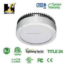 USA Curve 60 W LED canopy lights,gas station LED garage with DLC and UL