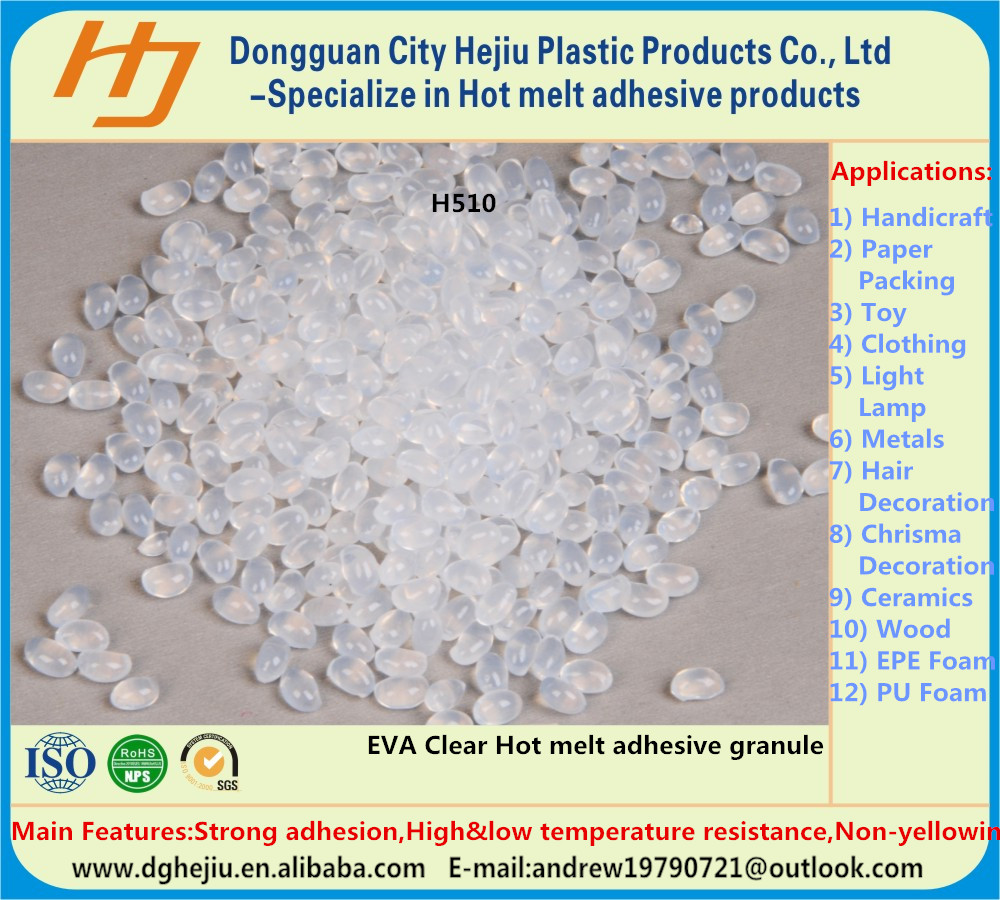 Cushioning material packaging usage hot melt adhesive&glue granule for EPE foam sheet