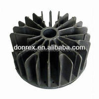 OEM Aluminum Die casting LED heatsink with black anodizing surface