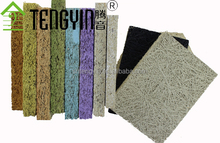 China suppliers new goods soundproofing materials cheap wood wool interior acoustic panels
