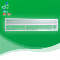 Air conditioning aluminum supply linear bar grille air diffuser