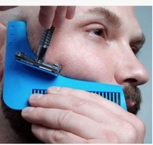 Sex Man Gentleman Beard Trim Template Hair Cut Shaping Beard Comb