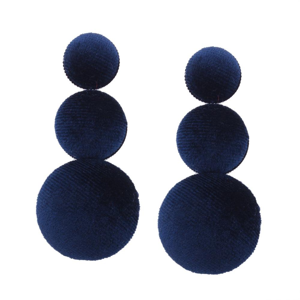 Simple dise o largo pendientes de las mujeres con material for Proveedores de material para bisuteria