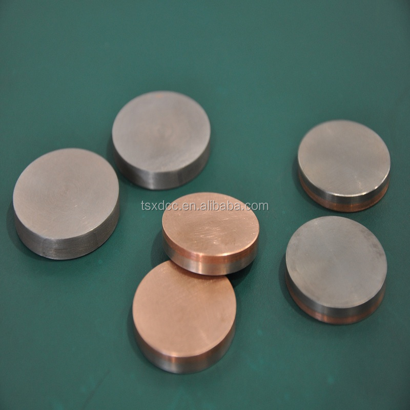 copper-tungsten contacts