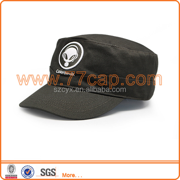 100% Cotton Types of Brand Military Visor Caps