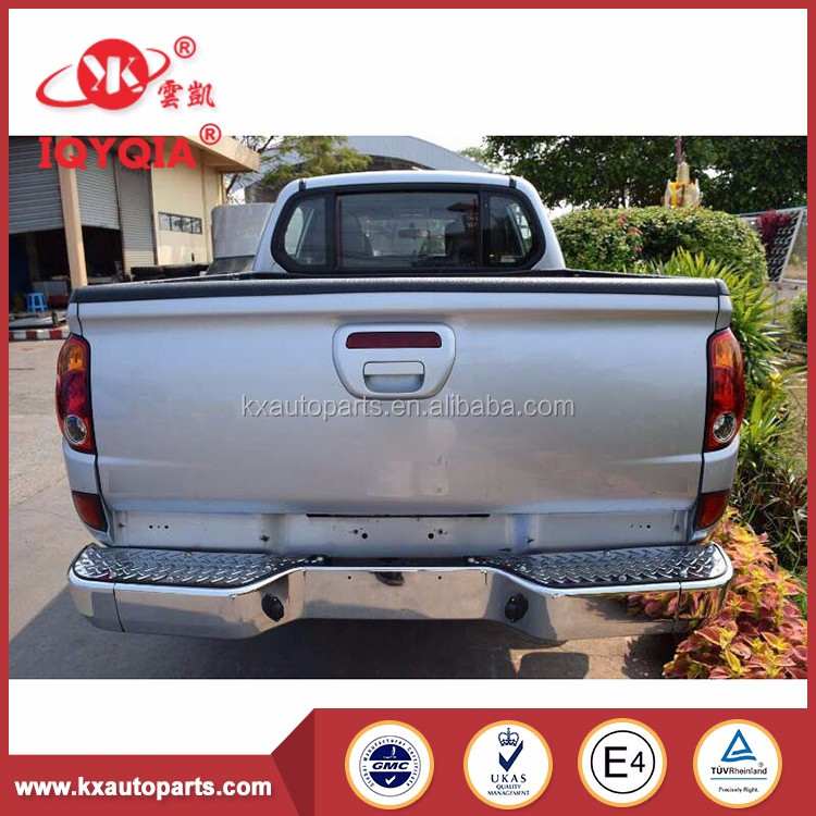 factory manufacturing top quality scion rear bumper for MITSUBISHI L200 2015-