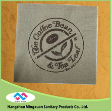 Trustworthy China Supplier 1-4 Folding Tissue Beverage Paper Napkins , Printed Paper Napkin Serviettes