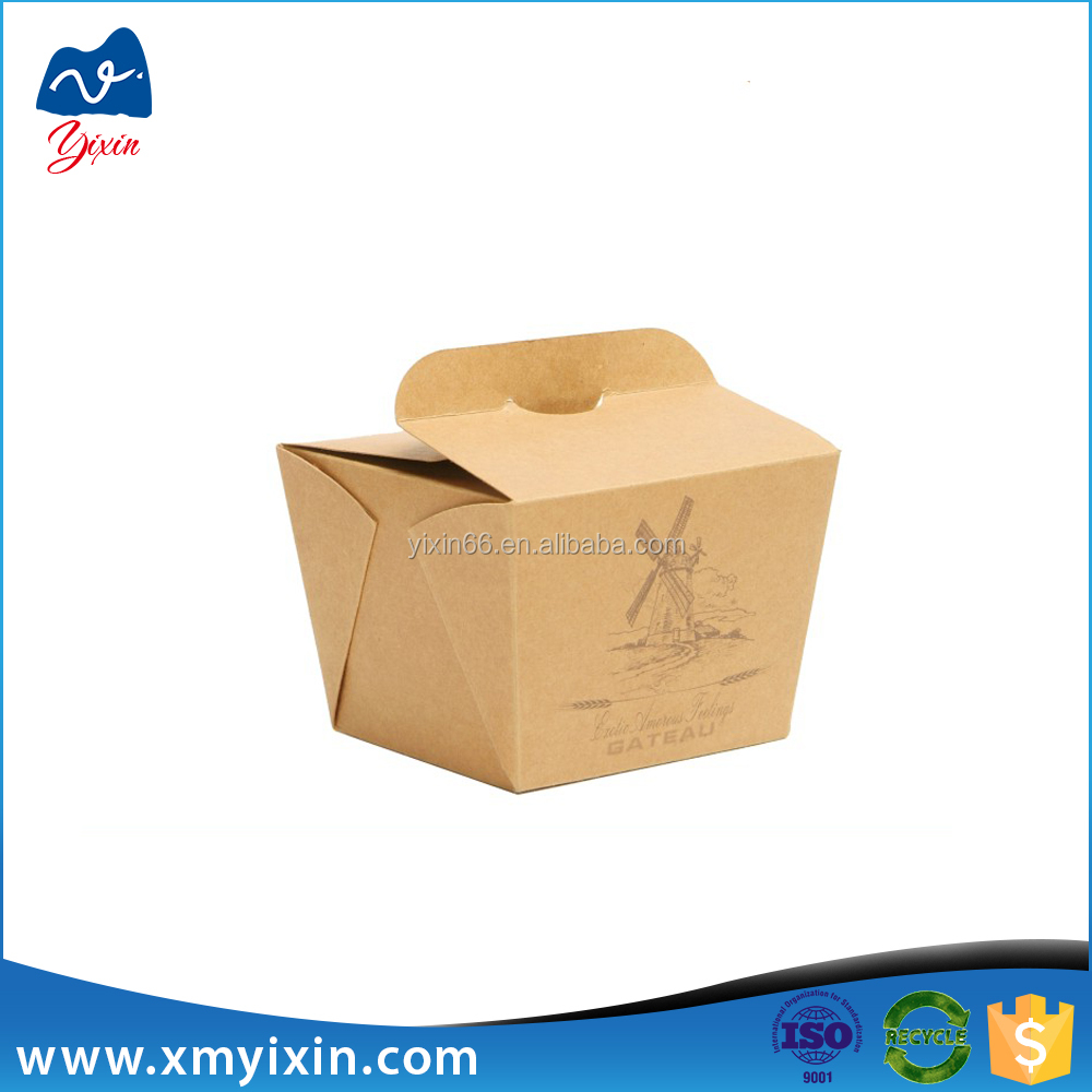 Take away food box delivery food paper box