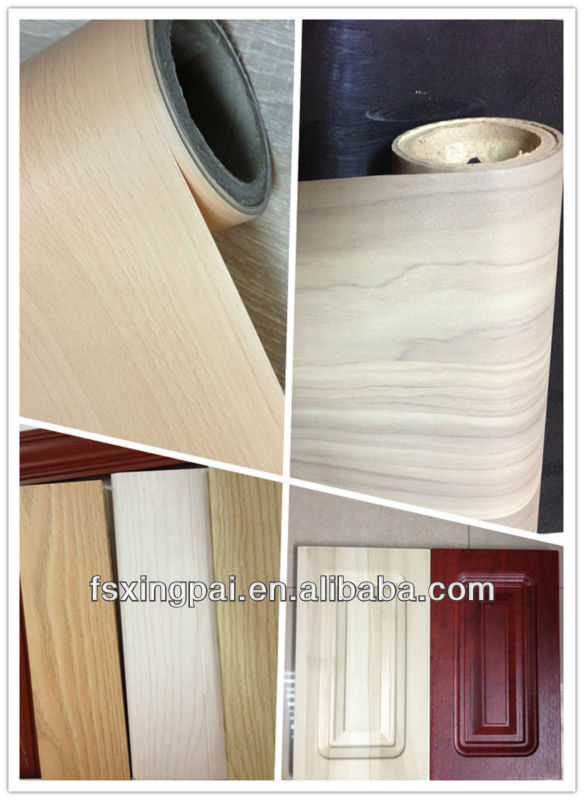 Wood Grain PVC Plastic sheet/ Plastic film