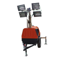 Outdoor Lighting Light Tower Construction Mobile