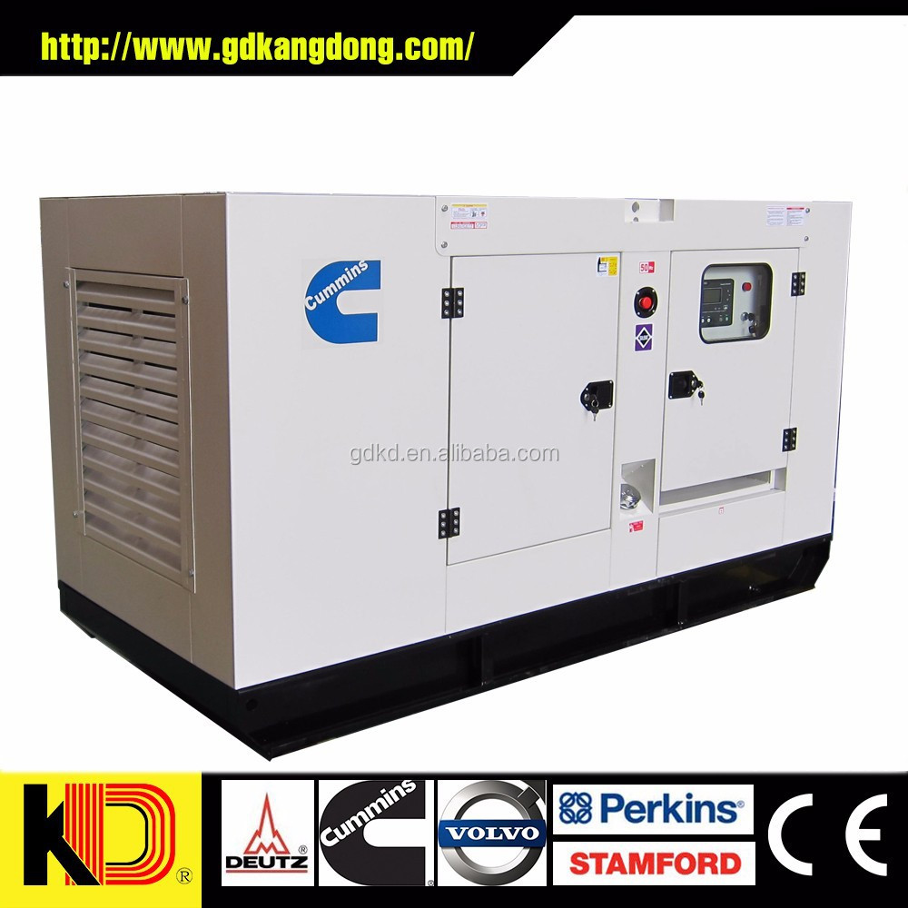 200kva Cummins/Perkins Engines Soundproof Diesel Generator Set with Cummins competitive Price