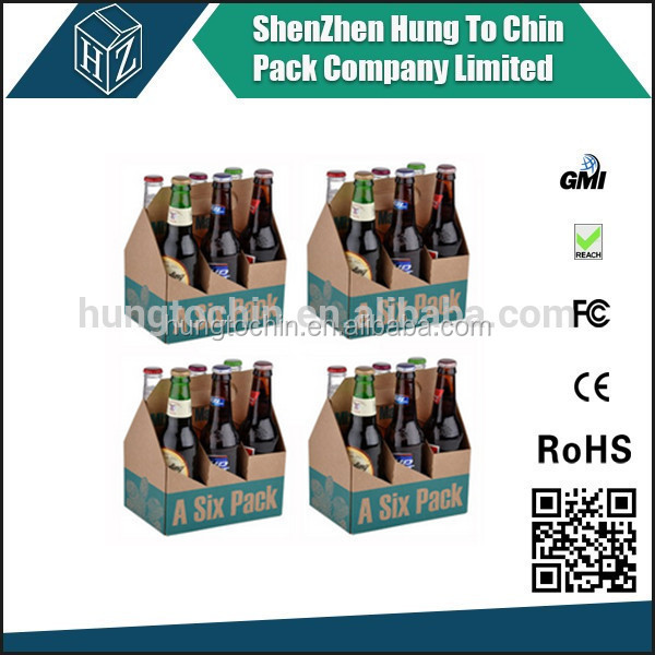 3 ply 4 color printing 5 ply corrugated 6 bottle cardboard wine box