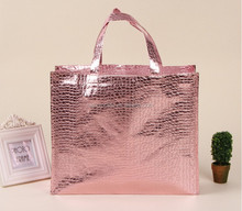 cheap fashion Laser Non Woven Bag With Customized Printing For Shopping Or Travel Carry Foldable Laminated Plastic Bag