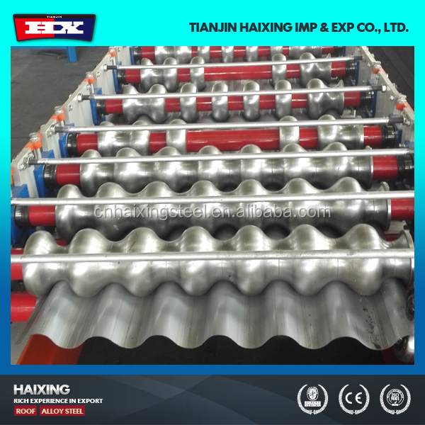 HX-Alibaba Roofing Galvanized Corrugated Steel Sheet Tile Making Machine ,Color Steel Roll Forming Machine