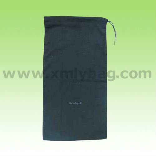 New Black Cotton Shoe Dust Bag