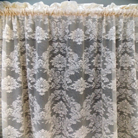 2015 new arrival hot sale cheap net sheer curtain designs