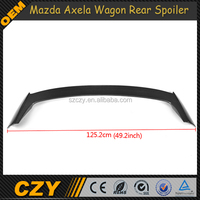 Carbon Fiber Car Parts Roof Spoiler for Mazda Axela Wagon 5D Hatchback